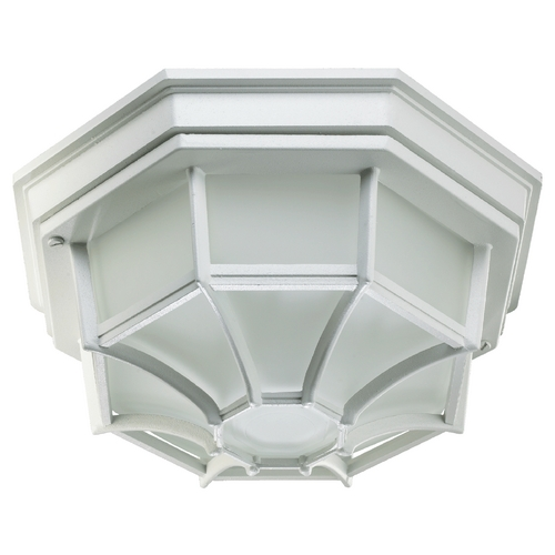 Quorum Lighting Quorum Lighting White Close To Ceiling Light 3086-11-6
