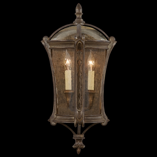 Fine Art Lamps Fine Art Lamps Gramercy Park Aged Antique Gold Outdoor Wall Light 574781ST