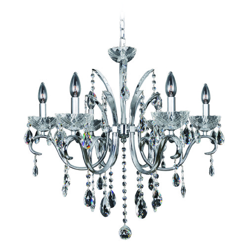 Allegri Lighting Catalani 6 Light Crystal Chandelier 023854-010-FR001