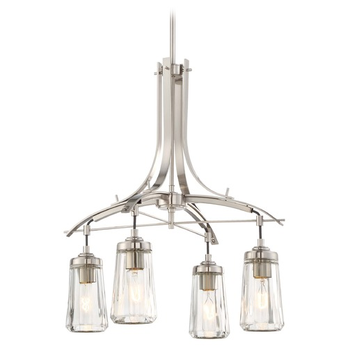 Minka Lavery Minka Poleis Brushed Nickel Chandelier 3304-84