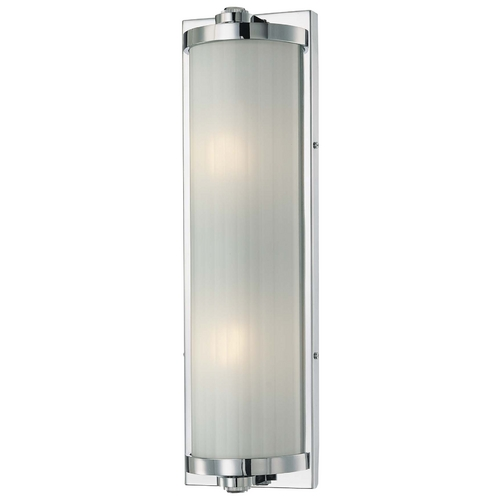 Minka Lavery Hyllcastle Chrome Bathroom Light - Vertical or Horizontal Mounting 6522-77