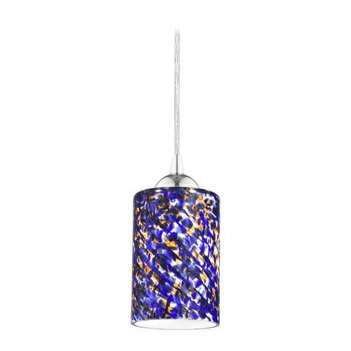Design Classics Lighting Modern Mini-Pendant Light 582-26 GL1009C