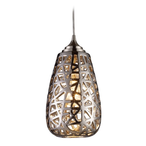 Elk Lighting Elk Lighting Nestor Chrome Mini-Pendant Light 20064/1-LA