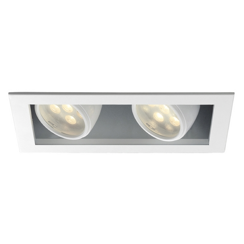 WAC Lighting Wac Lighting White LED Recessed Trim MT-LED218S-WWHS-WT