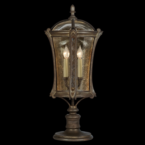 Fine Art Lamps Fine Art Lamps Gramercy Park Aged Antique Gold Post Lighting 574480ST