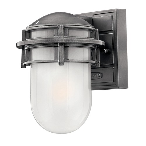 Hinkley Lighting Hinkley Lighting Reef Hematite LED Outdoor Wall Light 1956HE-LED