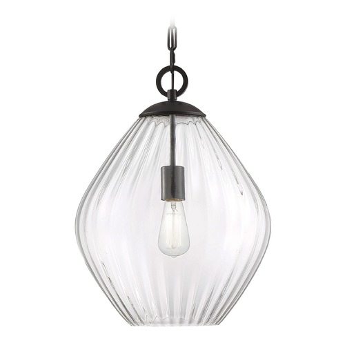 Savoy House Savoy House Lighting Carnegie English Bronze Pendant Light with Bowl / Dome Shade 7-5010-1-13