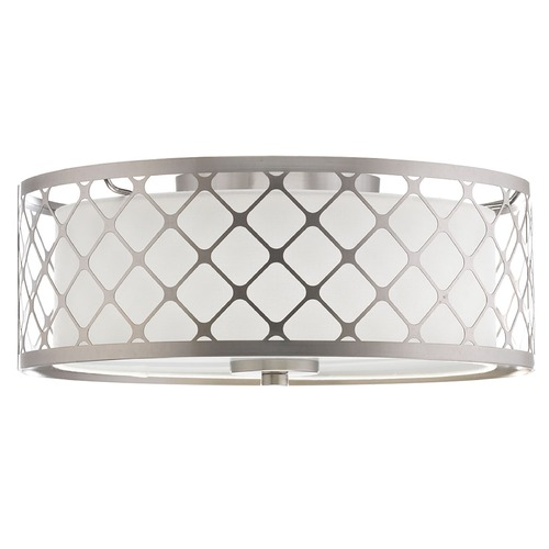 Progress Lighting Progress Lighting Mingle LED Brushed Nickel LED Flushmount Light P2331-0930K9