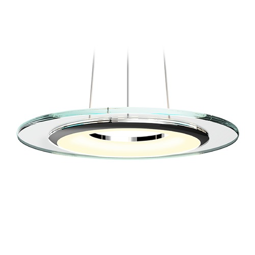 Sonneman Lighting Sonneman a Way of Light Float Polished Chrome LED Pendant Light 2620.01