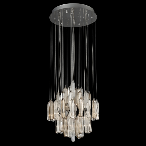 Lite Source Lighting Lite Source Lighting Itala Nickel Pendant Light EL-10083