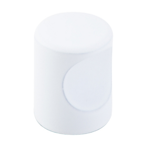 Top Knobs Hardware Modern Cabinet Knob in White Finish M1871