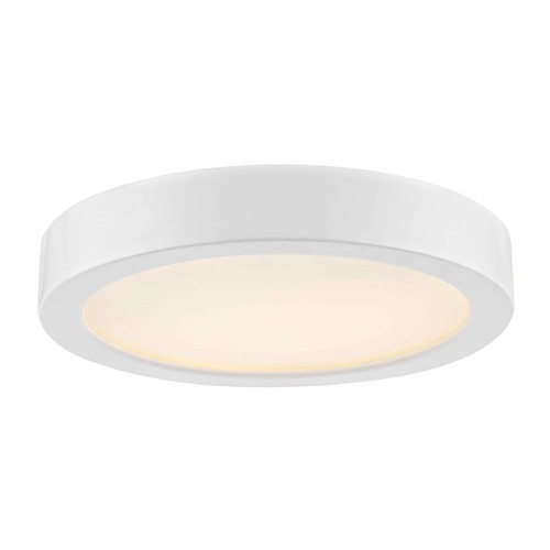 Design Classics Lighting Design Classics Gem White LED Flushmount Light 6279-WH
