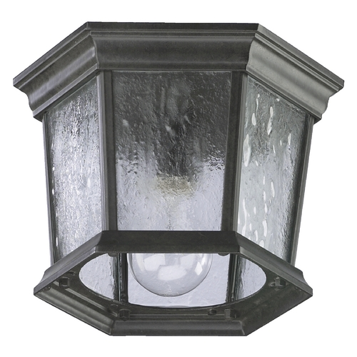 Quorum Lighting Quorum Lighting Timberland Granite Close To Ceiling Light 7930-1-25