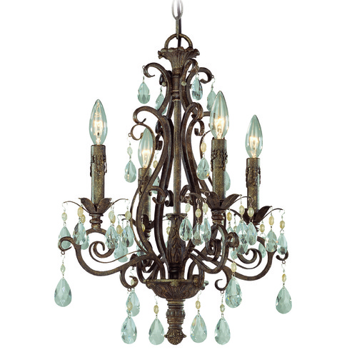 Craftmade Lighting Craftmade Englewood French Roast Mini-Chandelier 25624-FR