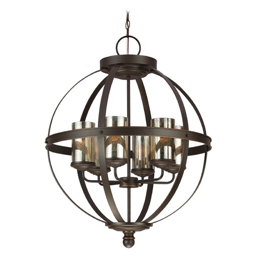 Sea Gull Lighting Sea Gull Lighting Sfera Autumn Bronze Chandelier 3110406-715