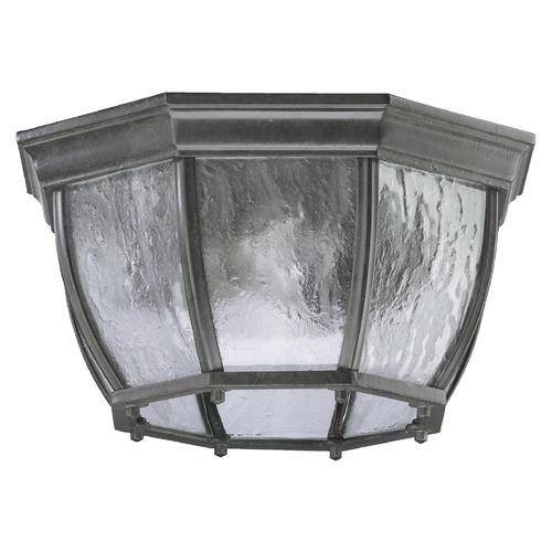 Quorum Lighting Quorum Lighting Timberland Granite Close To Ceiling Light 7931-2-25