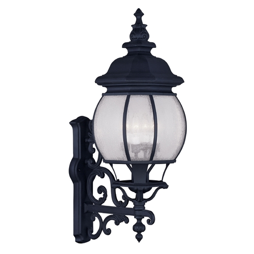 Livex Lighting Livex Lighting Frontenac Black Outdoor Wall Light 7904-04