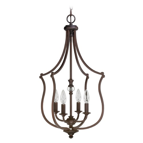 Capital Lighting Capital Lighting Leigh Burnished Bronze Pendant Light 4705BB