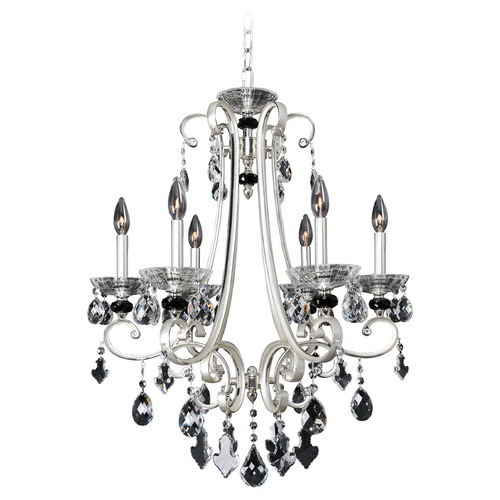 Allegri Lighting Bedetti 6 Light Crystal Chandelier 023951-017-FR001