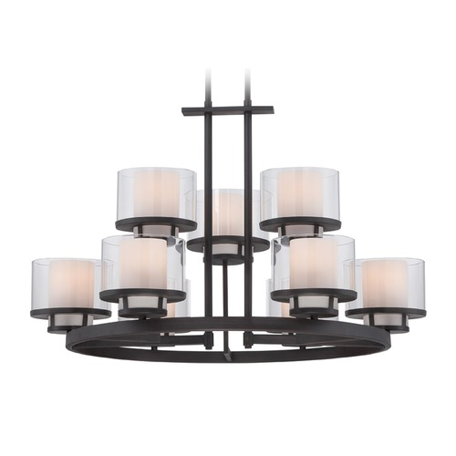 Designers Fountain Lighting Designers Fountain Fusion Biscayne Bronze Chandelier 86189-BBR