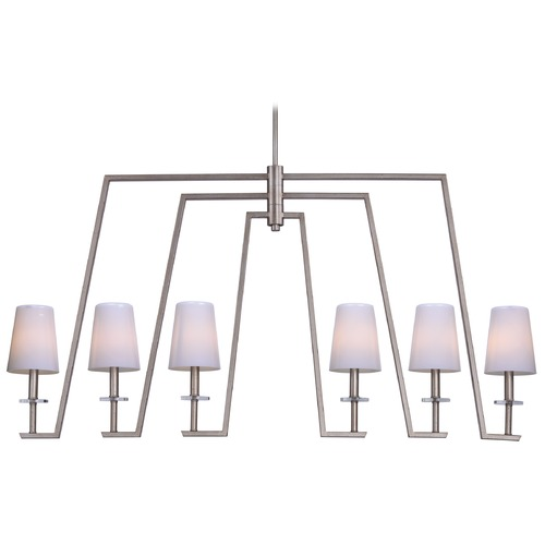 Maxim Lighting Maxim Lighting Wing Platinum Dusk Island Light with Empire Shade 30257WTPD