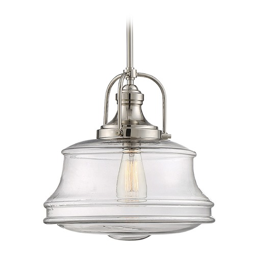 Savoy House Savoy House Lighting Garvey Polished Nickel Pendant Light 7-5012-1-109