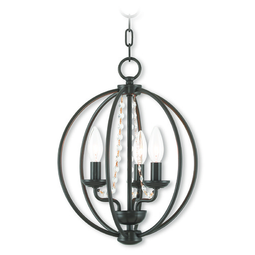 Livex Lighting Livex Lighting Arabella English Bronze Mini-Chandelier 40913-92