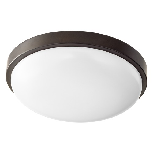 Quorum Lighting Quorum Lighting Oiled Bronze LED Flushmount Light 902-11-86