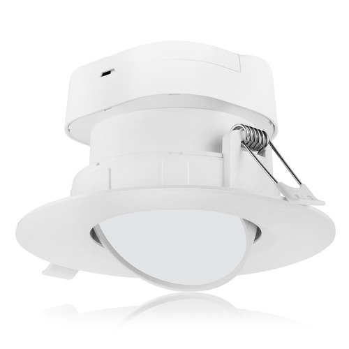 Satco Lighting Satco 7 Watt LED Direct Wire Downlight Gimbaled 4-inch 4000K 120V Dimmable S11710