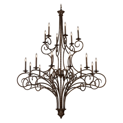 Elk Lighting Chandelier in Antique Bronze Finish 15044/12+6