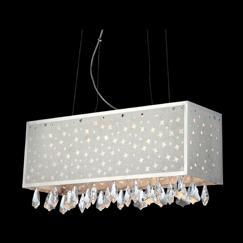 Lite Source Lighting Modern Low Voltage Pendant Light in Chrome Finish EL-10093