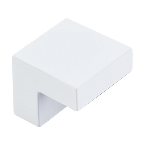Top Knobs Hardware Modern Cabinet Knob in White Finish M1873