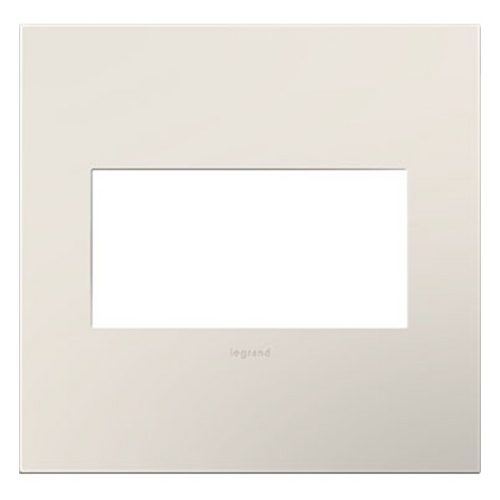 Legrand Adorne Legrand Adorne Satin Light Almond 2-Gang Switch Plate AWP2GLA4