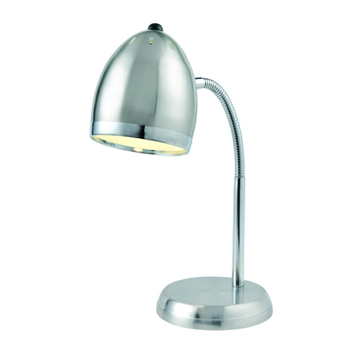 Lite Source Lighting Lite Source Lighting Zachary Polished Steel / Chrome Desk Lamp LS-22311PS