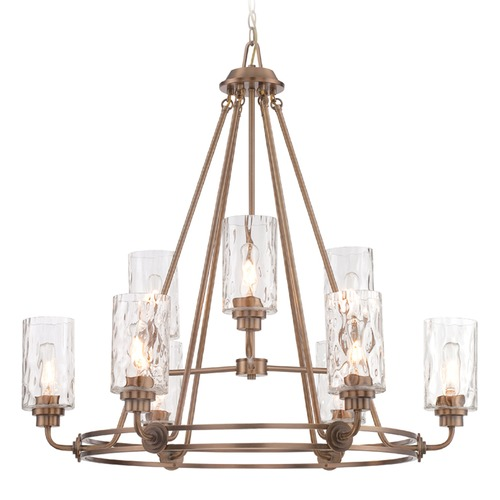 Designers Fountain Lighting Designers Fountain Gramercy Park Old Satin Brass Chandelier 87189-OSB