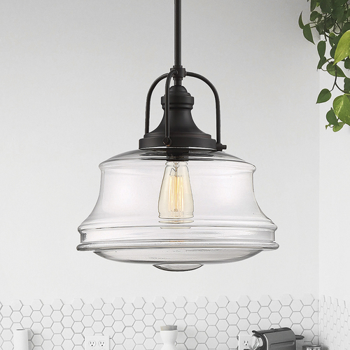 Savoy House Savoy House Lighting Garvey English Bronze Pendant Light 7-5012-1-13