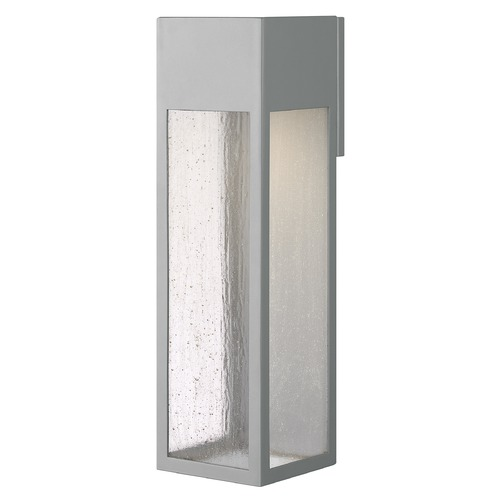 Hinkley Hinkley Rook 20-Inch Titanium LED Outdoor Wall Light 2700K 500LM 1788TT-LL