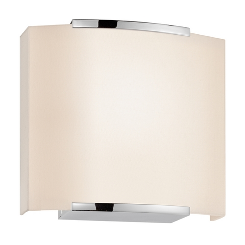 Sonneman Lighting Modern Sconce Wall Light in Polished Chrome Finish 4413.01