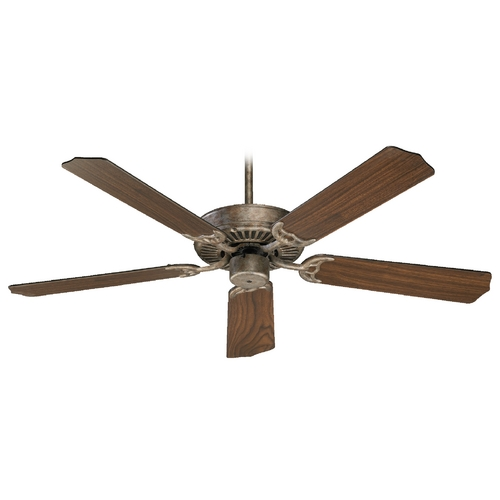 Quorum Lighting Quorum Lighting Capri I Mystic Silver Ceiling Fan Without Light 77525-58