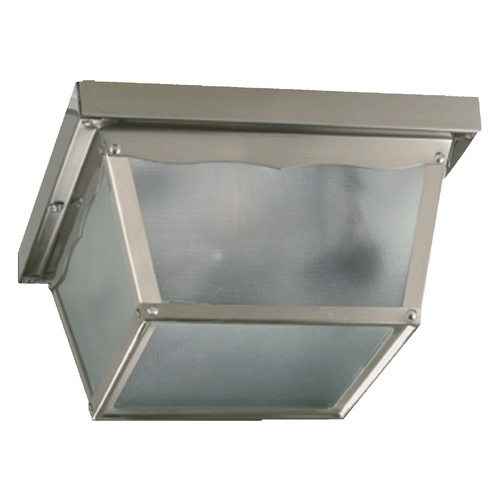 Quorum Lighting Quorum Lighting Satin Nickel Close To Ceiling Light 3080-7-65