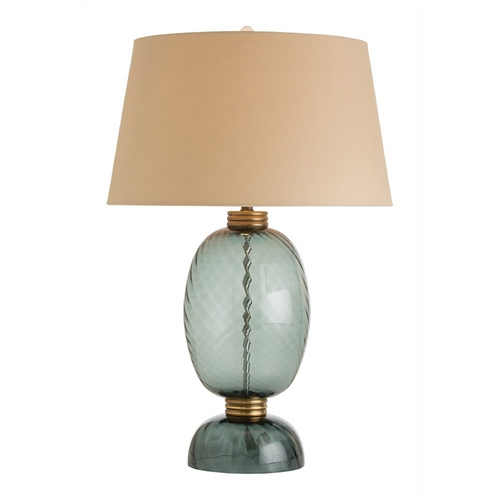 Arteriors Home Lighting Arteriors Home Lighting Josh Midnight Black Table Lamp with Empire Shade 44363-828