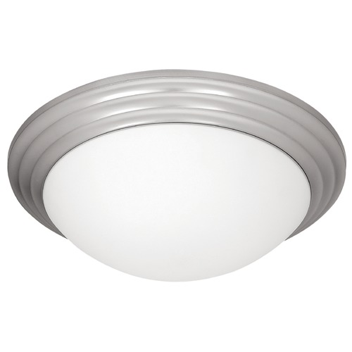 Access Lighting Access Lighting Strata Brushed Steel LED Flushmount Light 20651LEDD-BS/OPL