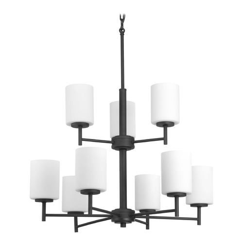 Progress Lighting Progress Lighting Replay Black Chandelier P4726-31