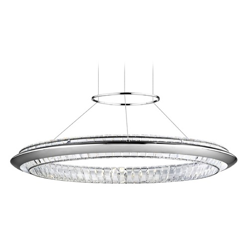 Elan Lighting Elan Lighting Joez Chrome LED Pendant Light 83623