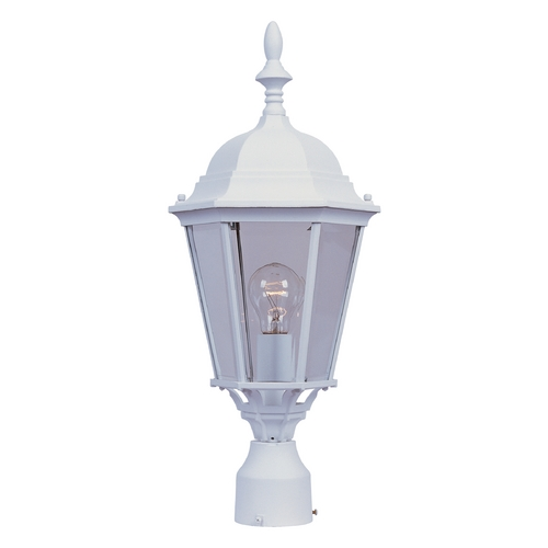 Maxim Lighting Maxim Lighting Westlake White Post Light 1005WT