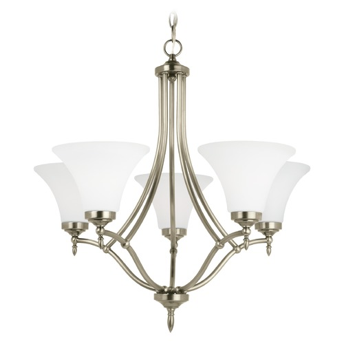 Sea Gull Lighting Sea Gull Lighting Montreal Antique Brushed Nickel LED Chandelier 31181EN3-965