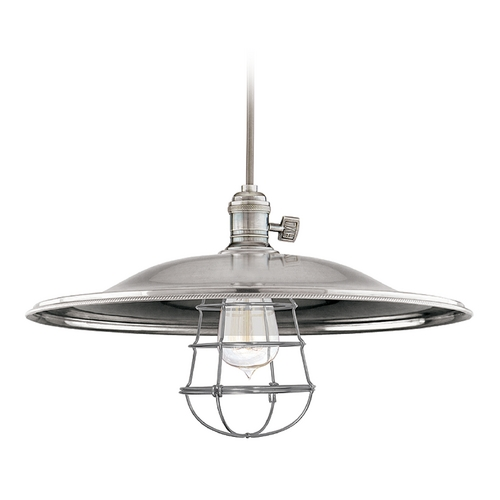 Hudson Valley Lighting Pendant Light in Historic Nickel Finish 8002-HN-ML2-WG