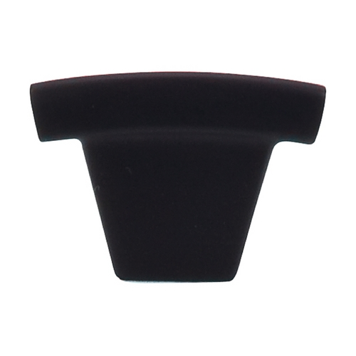Top Knobs Hardware Modern Cabinet Knob in Flat Black Finish TK1BLK