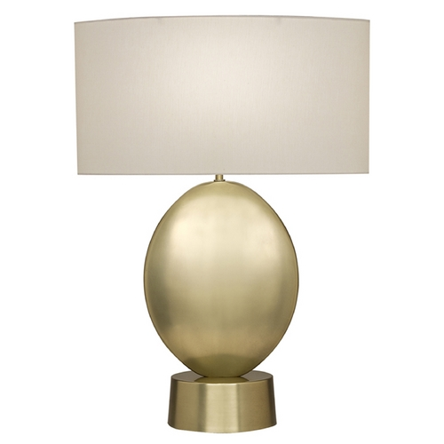 Fine Art Lamps Fine Art Lamps Grosvenor Square Antique Brass Table Lamp with Drum Shade 826110-2ST