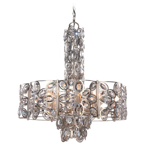 Crystorama Lighting Crystorama Lighting Sterling Distressed Twilight Pendant Light 7588-DT